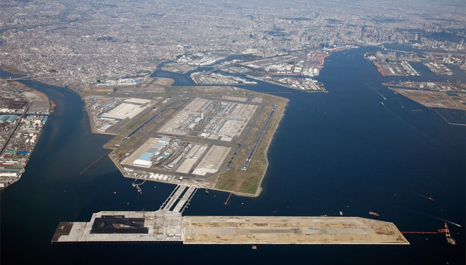 Tokyo International Airport Runway D Construction Project